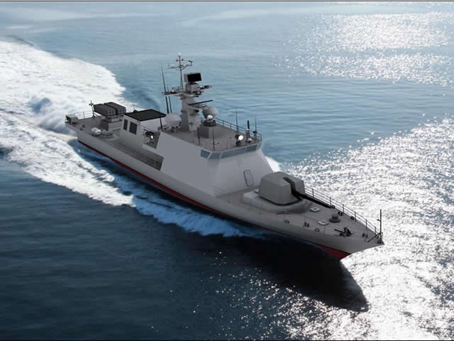 PKX B fast attack craft ROK Navy 1