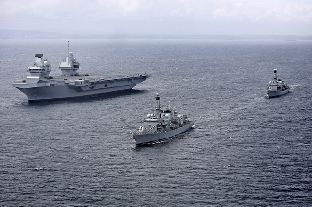 Royal Navy Frigates HMS Queen Elizabeth 2
