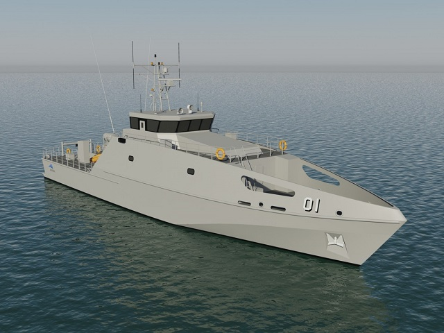 IMDEX Asia 2017: Austal's Pacific Patrol Boat Program draws interest from South East Asia
