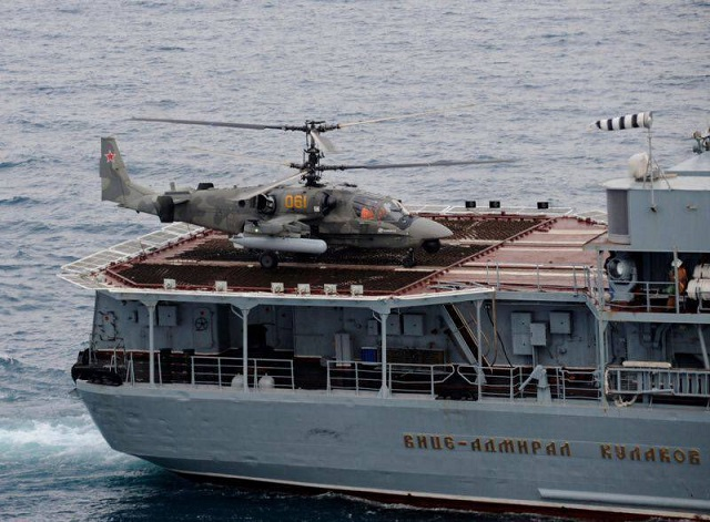 Analysis: Ka-52K Katran Naval Helicopter Passes First Set of Maritime Trials