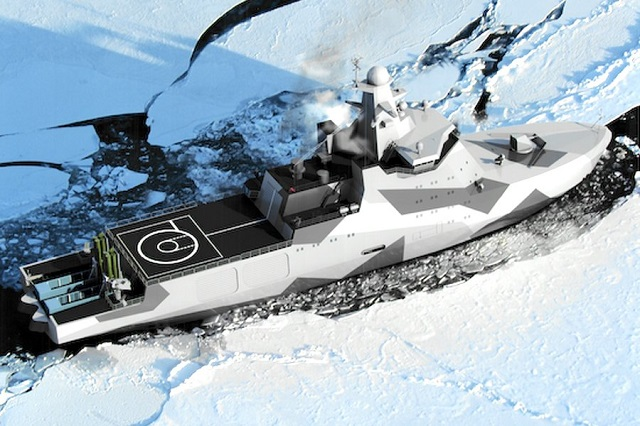 Project 23550 ice class patrol ship Russia