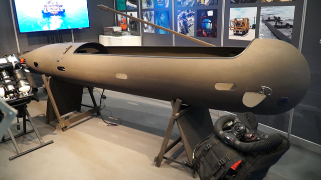 UDT 2017: JFD Showcasing its Torpedo SEAL Swimmer Delivery Vehicle