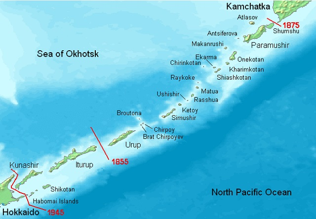 Kuril Islands Russia base