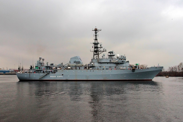 Project 18280 intelligence ship Ivan Khurs
