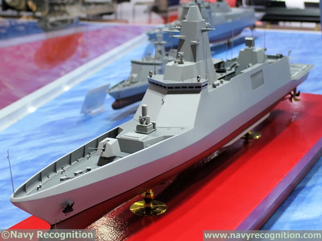 Royal Thai Navy DW3000 Frigate DSME 1
