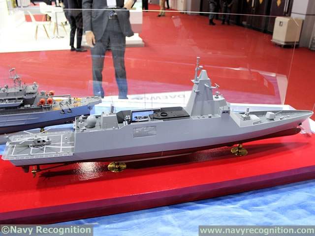 Royal Thai Navy DW3000 Frigate DSME 2