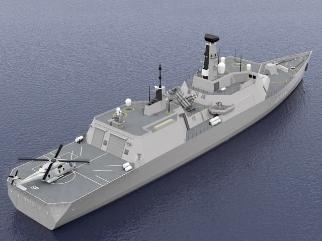 Type 31 Project Spartan Steller Systems
