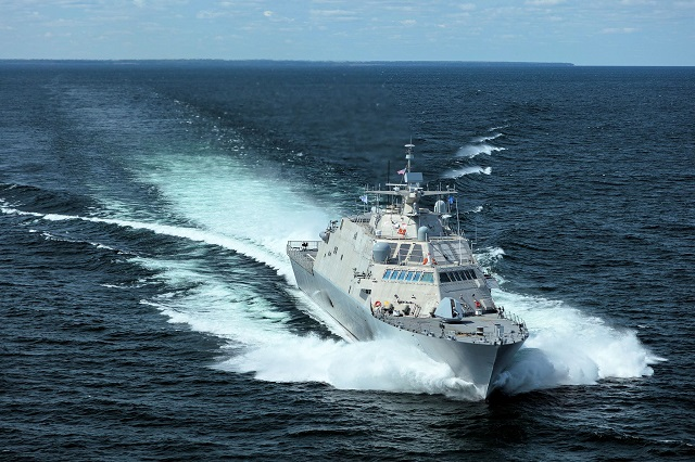 USS Little Rock LCS 9 Lockheed Martin sea trials