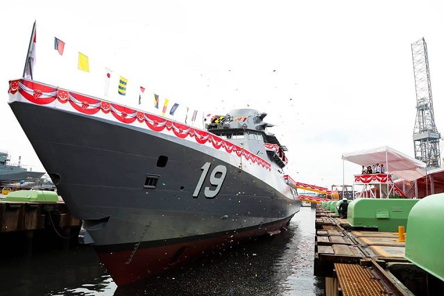 fifth littoral mission vessel indomitable RSN Singapore ST Marine
