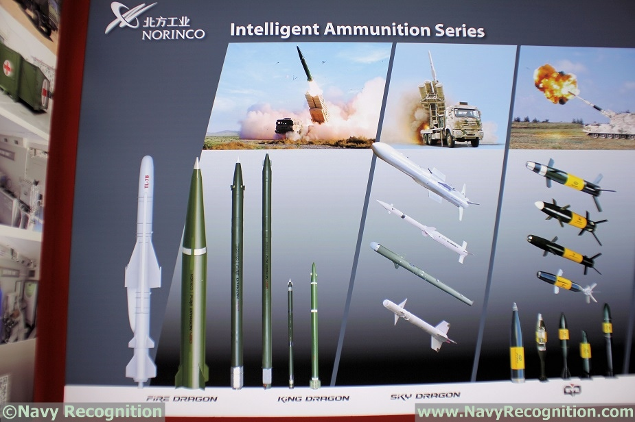 DSA 2018 Chinas NORINCO Showcasing TL 7B Anti ship Missile 1