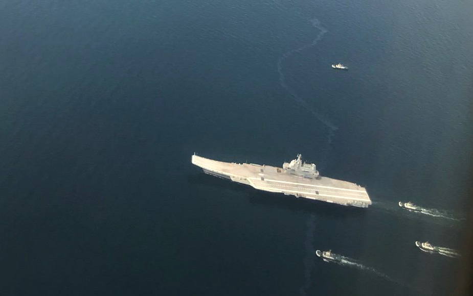 China Second Aircraft Carrier Type 002 Starts Second Round of Sea Trials