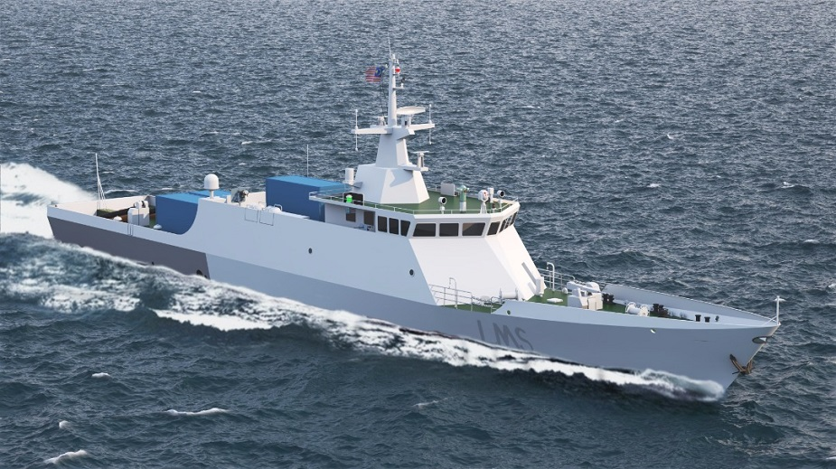 Construction of 1st Littoral Mission Ship for Malaysia started in China 1