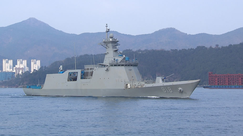 First Daegu class FFX II Frigate delivered to ROK Navy 1