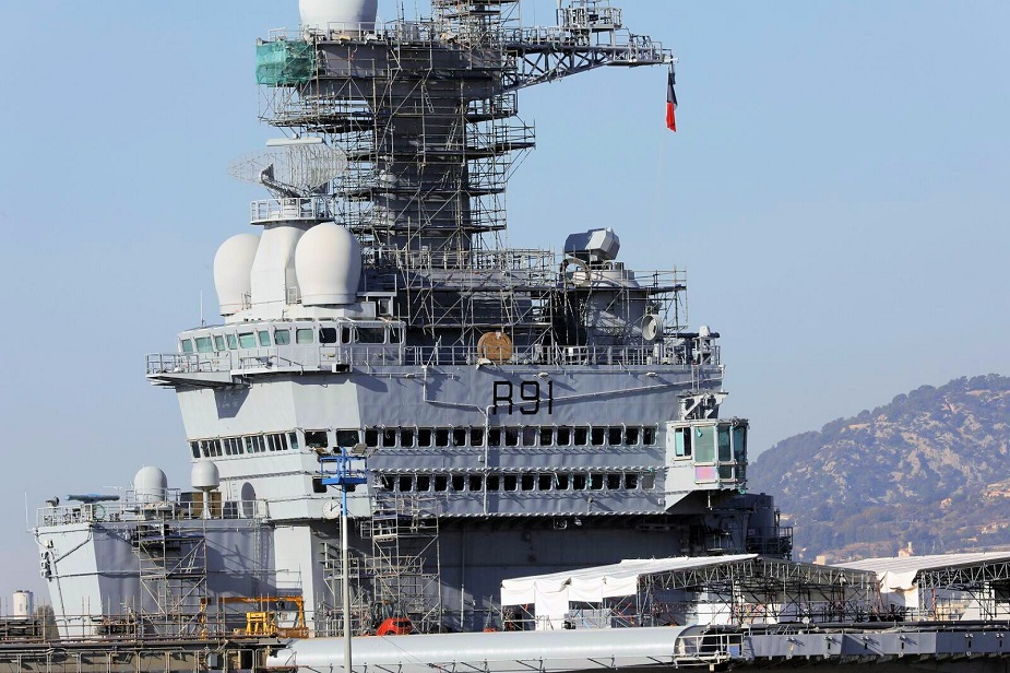 French Aircraft Carrier Charles de Gaulle Recieved its SMART S Mk2 Radar 1