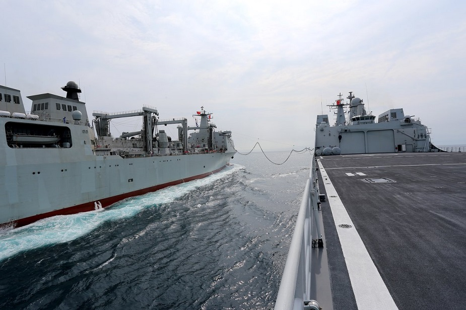 China Building a 3rd Type 901 Large Replenishment Oiler for PLAN 3