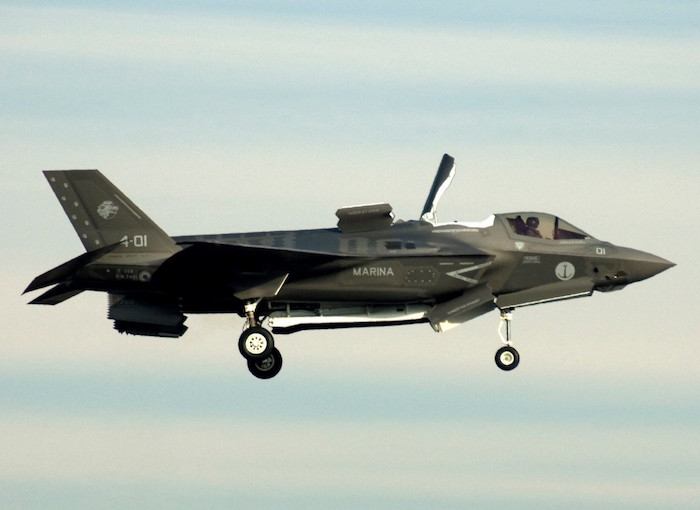 First Italian Built F 35B STOVL Aircraft Delivered To Italian Navy 1