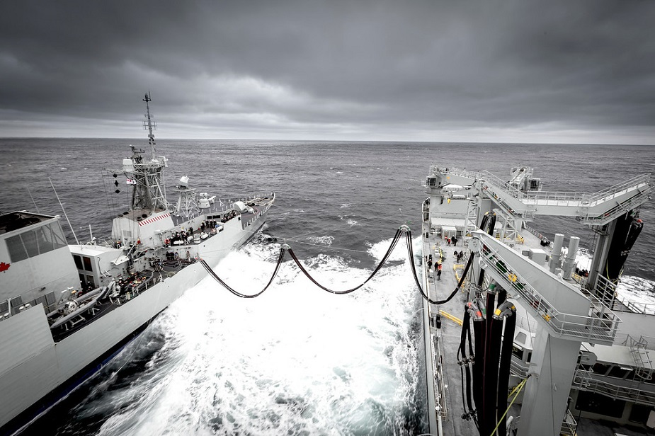 Interim AOR MV Asterix Completes Royal Canadian Navy Trials Achieves FOC 2