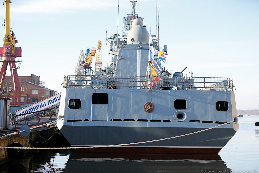 Project 11356 Admiral Makarov Frigate Russia 2