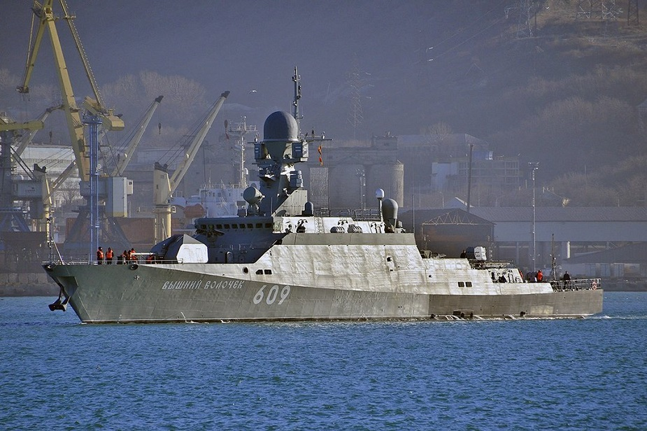 Buyan M Corvette Vyshny Volochyok Joins Russias Black Sea Fleet