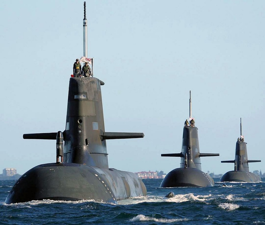 ASC Saab to Upgrade Australian Navy Collins class Submarine