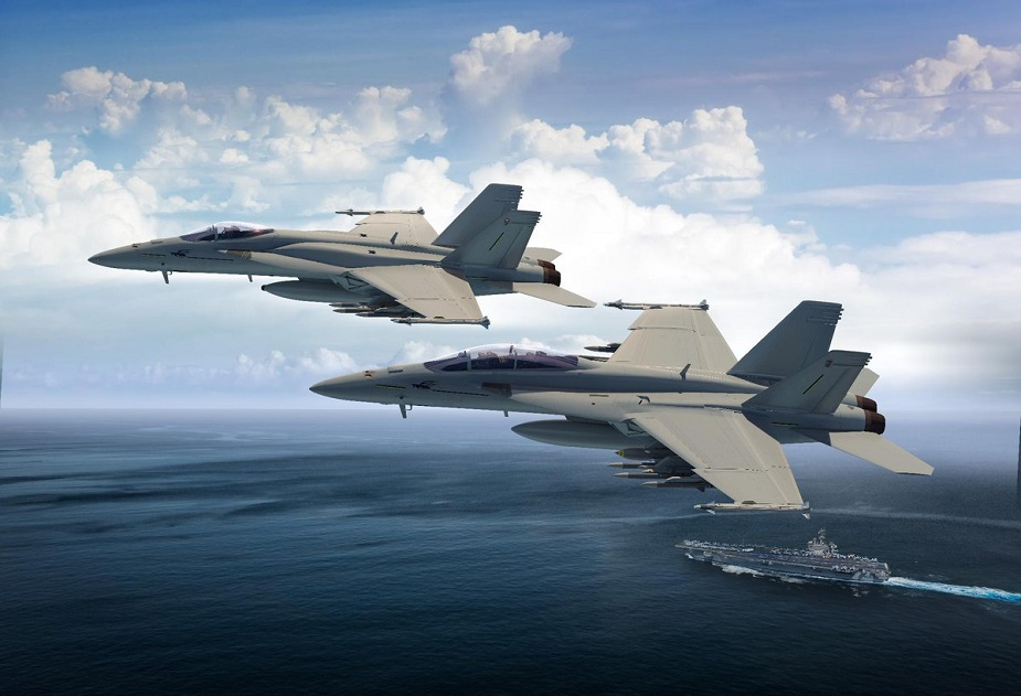 Boeing FA 18 Super Hornet Block III US Navy