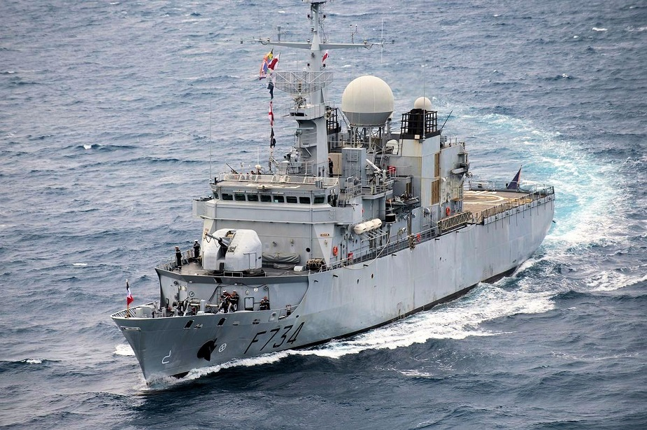 French Navy Frigate Conducts FONOP in South China Sea 1