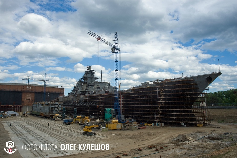Russia Admiral Nakhimov Cruise CGN Upgrade