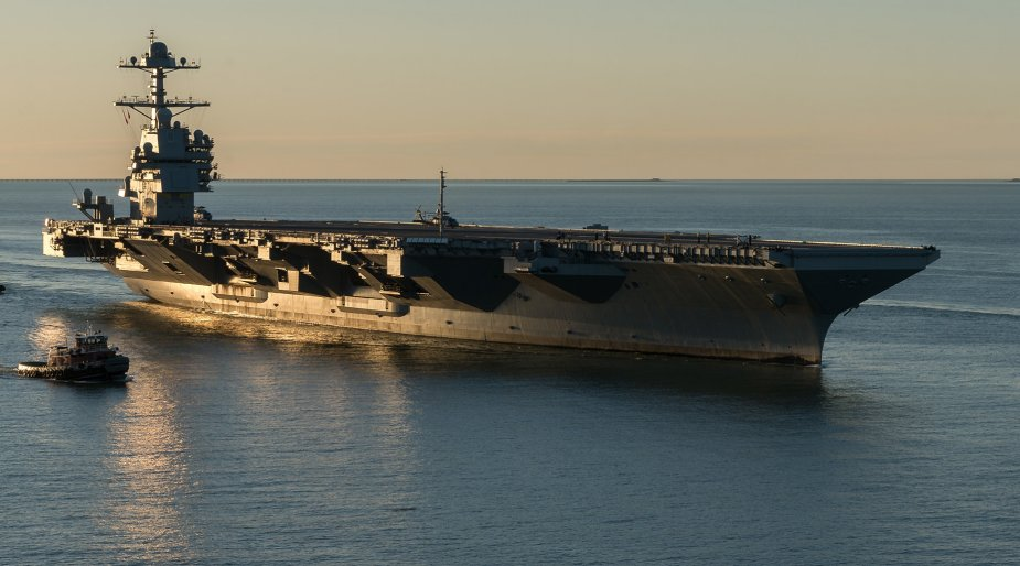 US Navy Issues HII RFP for woFord class Aircraft Carriers 001