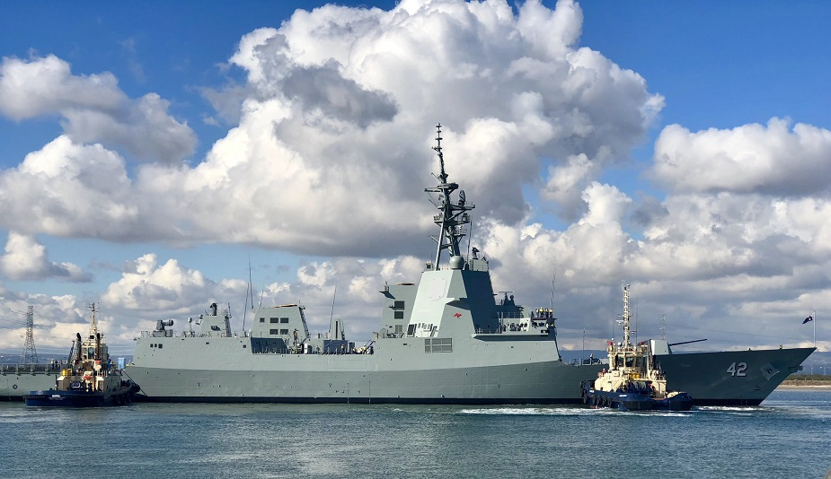Final Hobart class Air Warfare Destroyer for Royal Australian Navy Sydney Launched