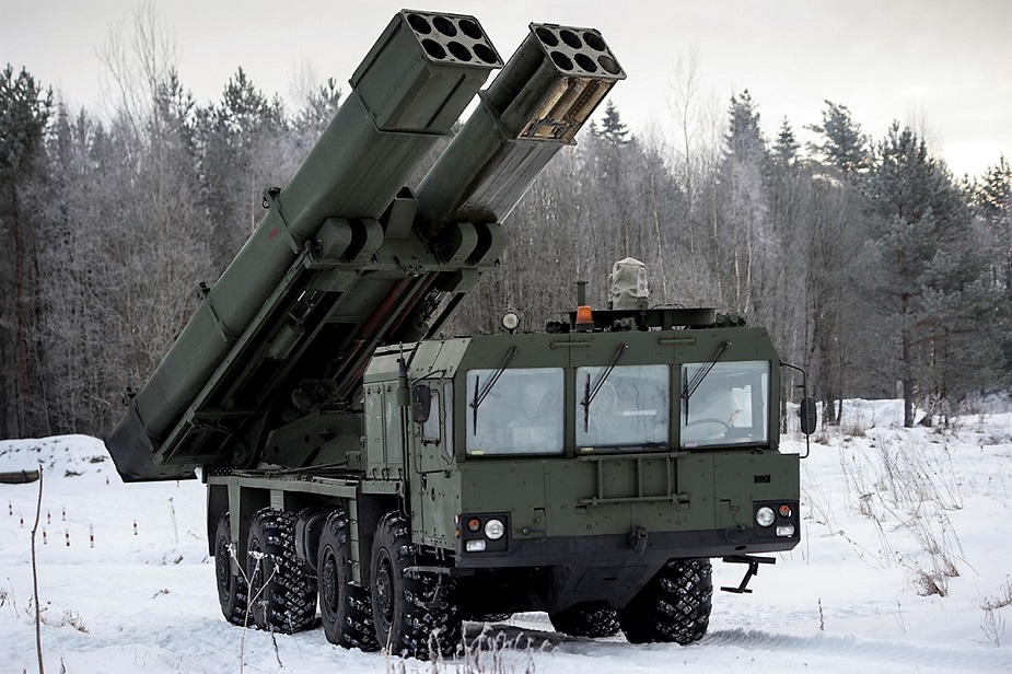 Russian Navy Artillery Units to Get Uragan 1M MLRS for Coastal Defence