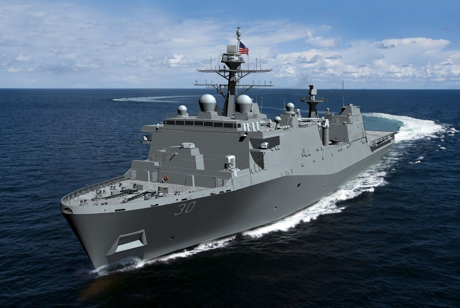 Huntington Ingalls awarded contract to build Flight II LPD for US Navy