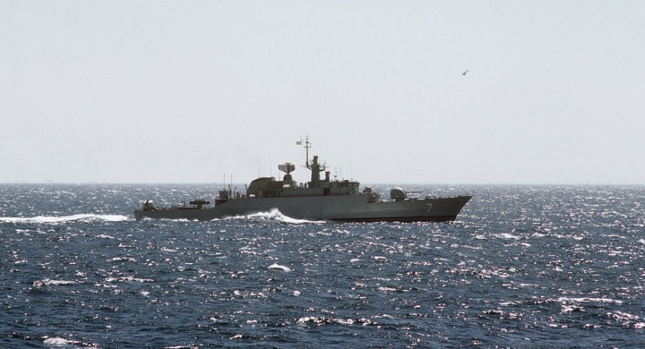 Iran deployed its 61st naval group in the Bab el Mandeb Strait