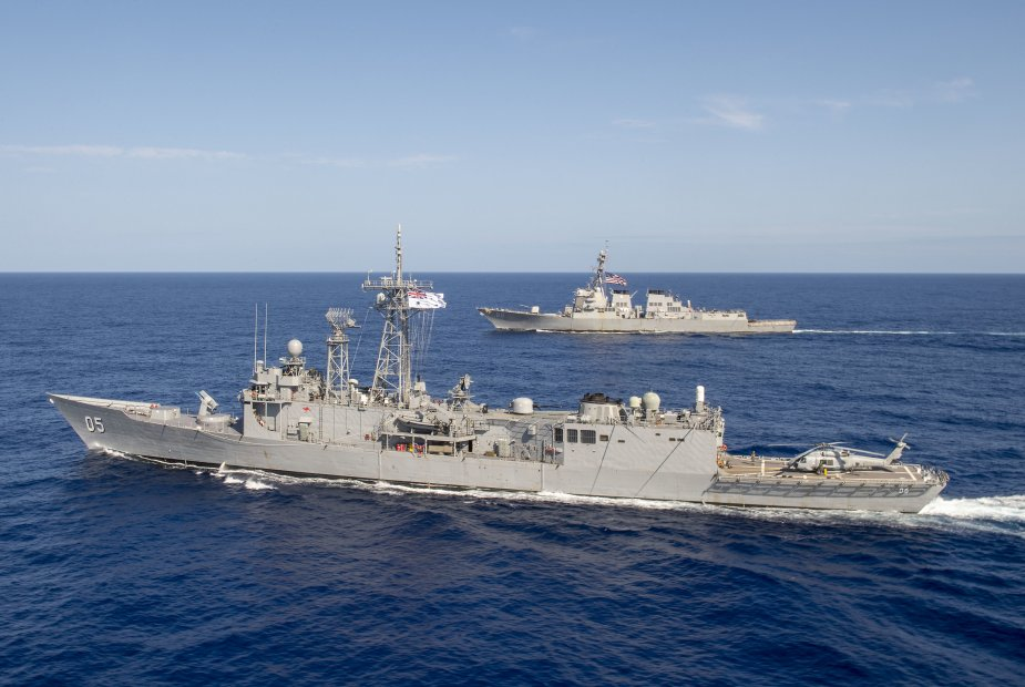 USS Preble completed cooperative deployment with HMAS Melbourne