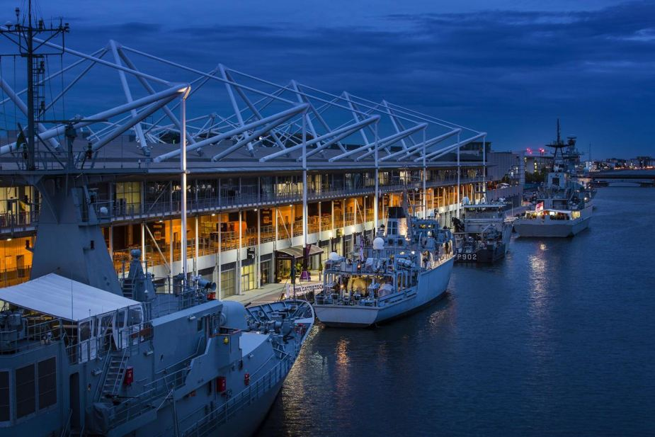 Eight International Naval Warships Will Be Displayed Along Dock at DSEI 2019 925 001