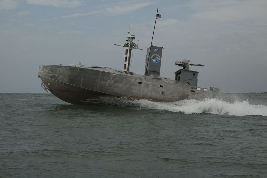 Live demonstration with Expeditionary Warfare Unmanned Surface Vessel for US Navy