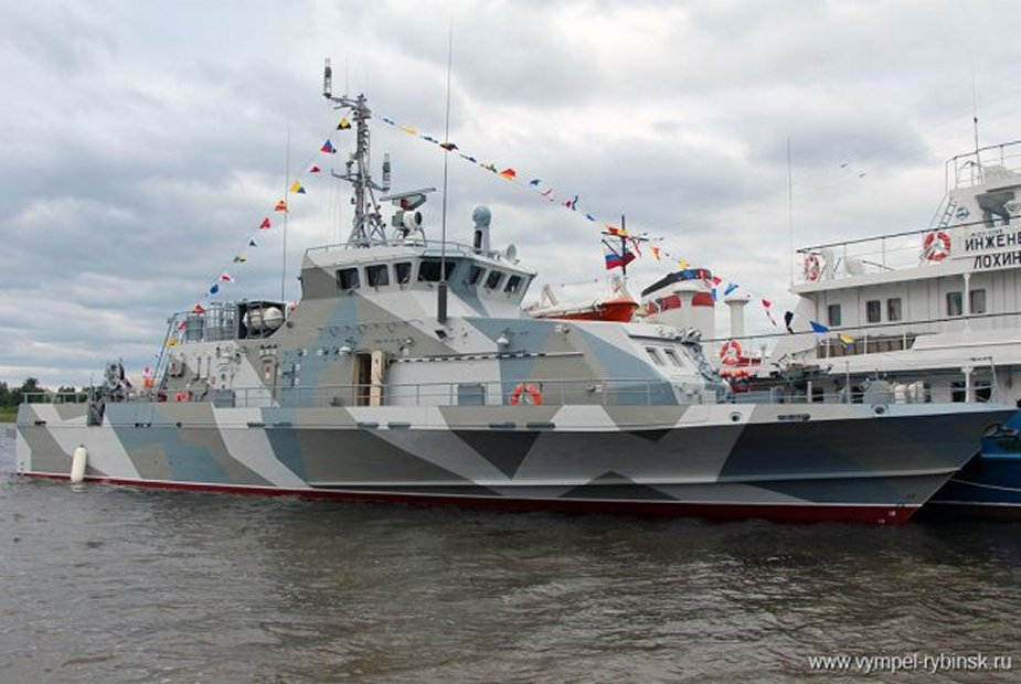 Project 21980 boat set afloat for the Russian Navy in Rybinsk