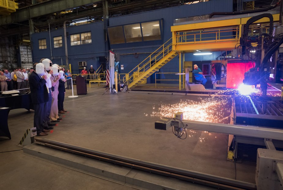 Huntington Ingalls Industries starts construction of Columbia class submarines