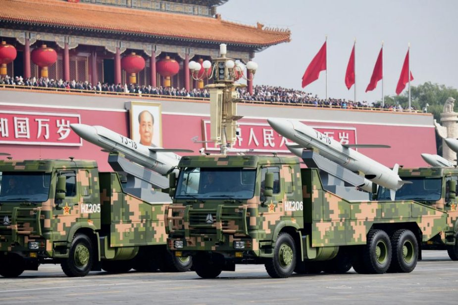 Analysis of Anti ship missiles and Ship borne air defense system unveiled at Chinese military parade 925 002