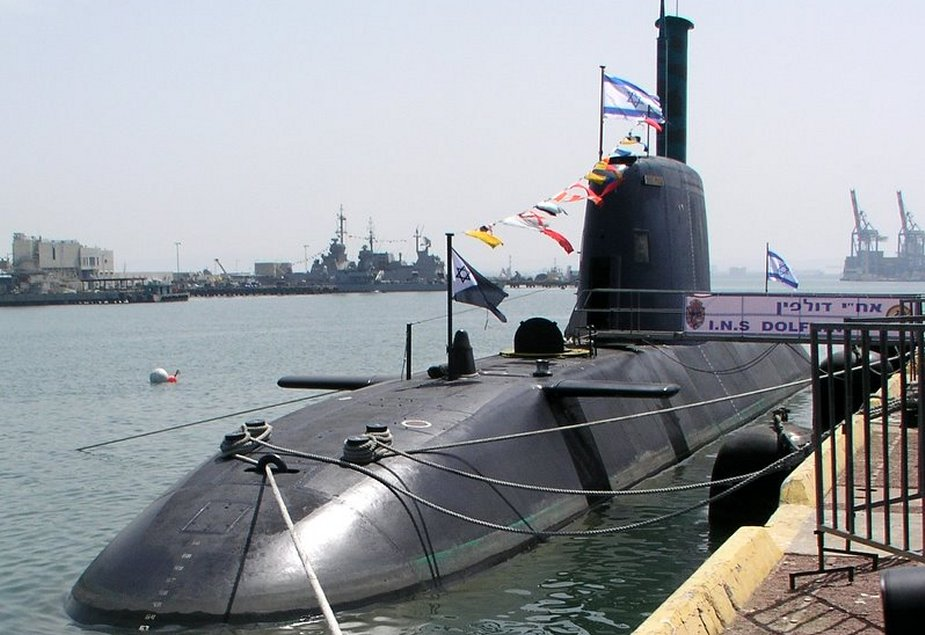 Israel Has German Build Nuclear Missile Submarines 925 001