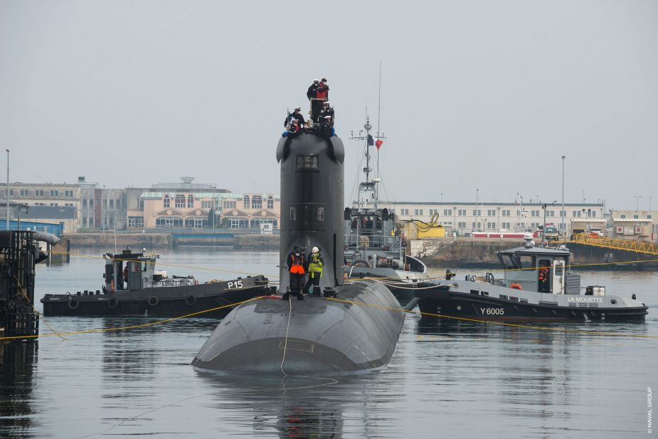 French company Naval Group has started sea trials of Suffren Barracuda class nuclear attack submarine 925 001