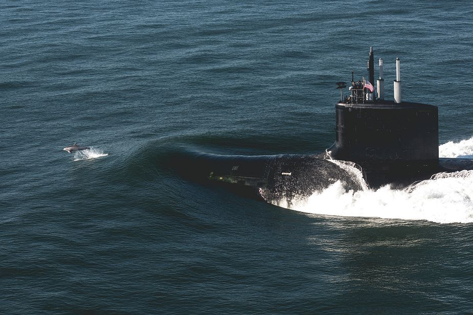 US Navy has commissioned USS Delaware SSN 791 Virginia class nuclear attack submarine 925 001