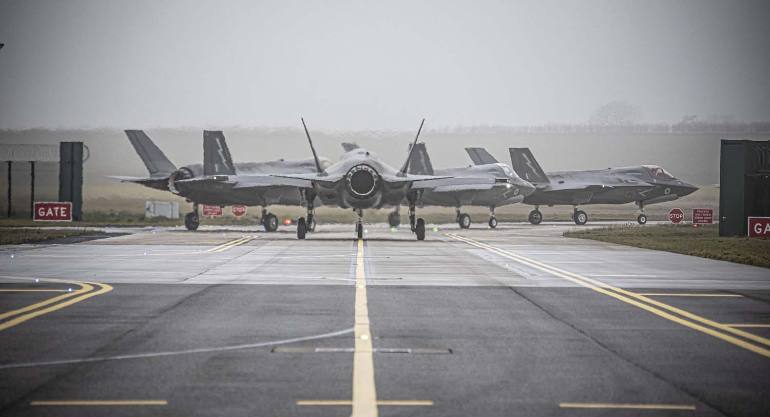 F 35 lightnings depart to take part in exercise red flag 925 001