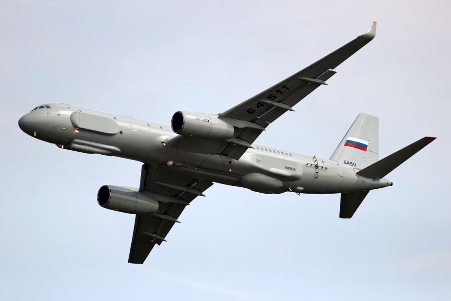 Tu 204 passenger plane converted in antisubmarine plane for Russian Navy 925 002