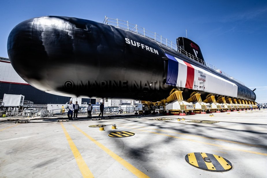 French Navy future nuclear attack submarine SNA Suffren begins trials in Toulon 925 001