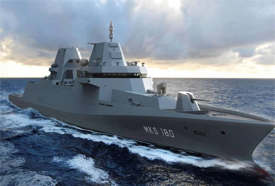 Germany approves the budget to purchase four MKS 180 frigates from Damen 925 001