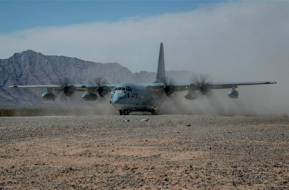 Lockheed Martin has delivered first KC 130J Super Hercules tanker aircraft to US Marine Corps Reserve Squadron 925 001