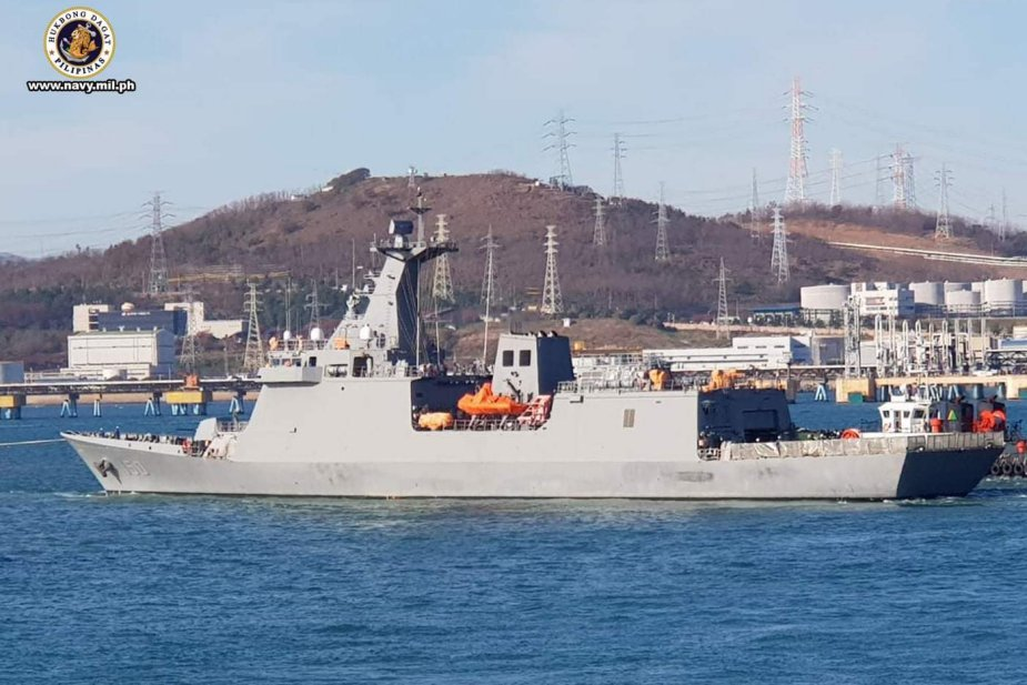 Philippine Navy Will soon accept the first of two Jose Rizal Class Frigate 925 002