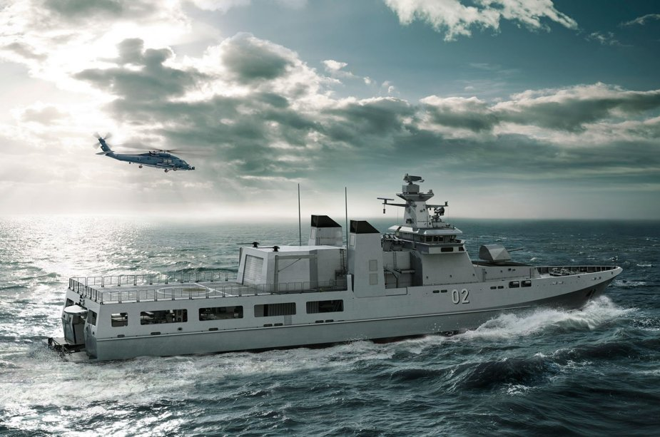 Australia officialy starts construction of first Offshore Patrol Vessel 925 001