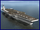 The Gerald R. Ford class is the future aircraft carrier replacement class for USS Enterprise and the Nimitz class aircraft carriers. CVN-78, CVN-79, and CVN-80 are the first three ships in this U.S. Navy's new class of nuclear-powered aircraft carriers (CVNs). First of class Gerald R. Ford (CVN 78) was ordered from Newport News Shipbuilding on Sept. 10, 2008, and is scheduled to be delivered in 2015.