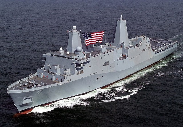 As the San Antonio-class LPDs have entered service in recent years, Austin-class LPDs have been decommissioned. Collectively, these ships functionally replace over 41 ships providing the U.S. Navy and Marine Corps with modern, seabased platforms that are networked, survivable, and built to operate with 21st century transformational platforms, such as the MV-22 Osprey, the Expeditionary Fighting Vehicle (EFV), and future means by which Marines are delivered ashore.